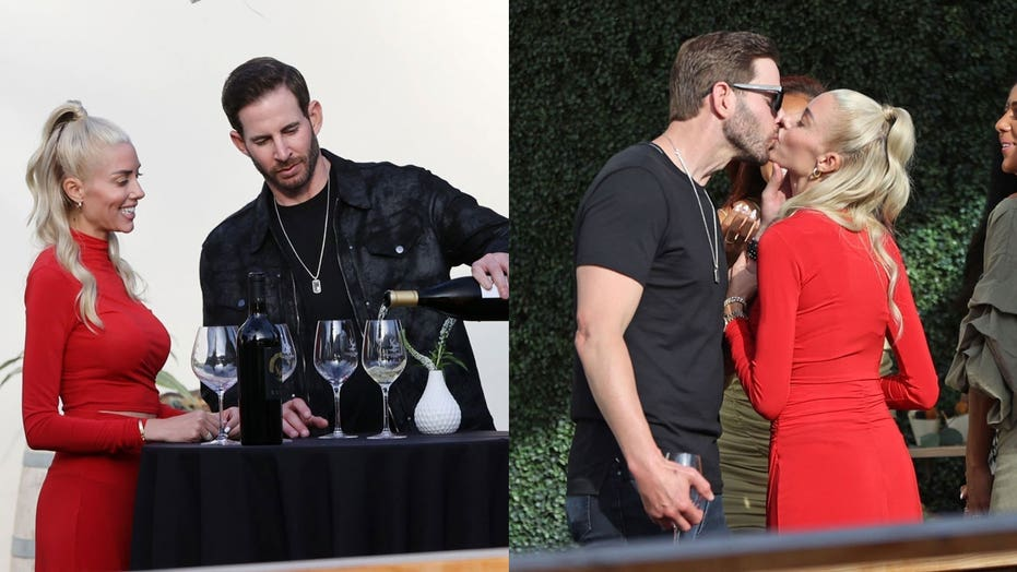 Tarek El Moussa, Heather Rae Young spotted all loved up at rehearsal dinner ahead of much-anticipated wedding