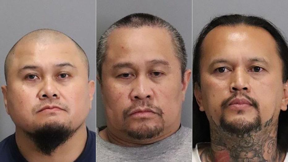 California police arrest 3 men in 2001 cold case stabbing death