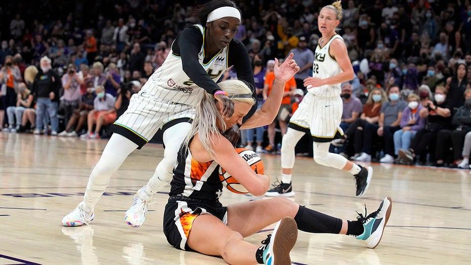 Mercury even WNBA Finals with 91-86 overtime win over Sky
