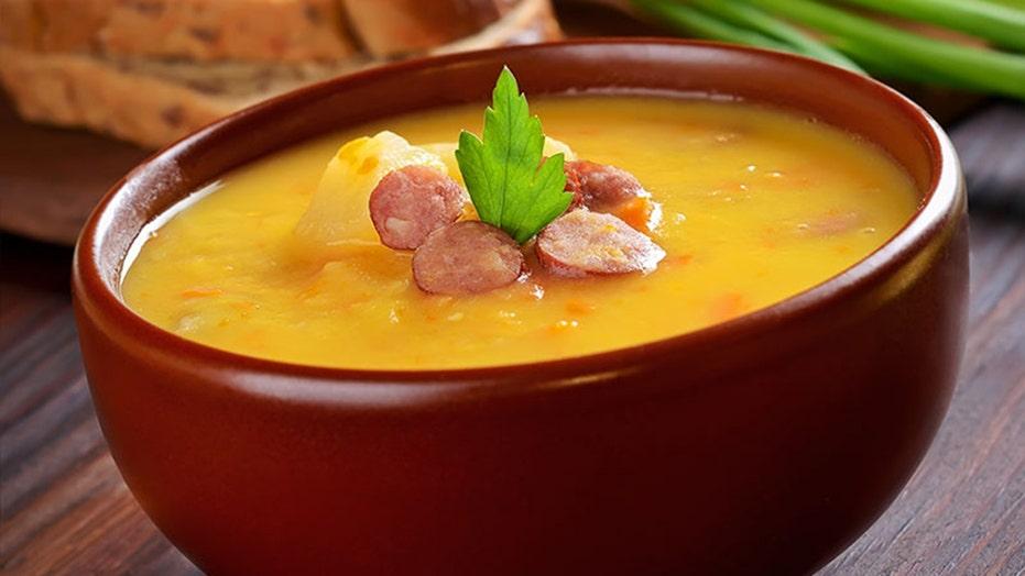 Split pea soup recipe is savory, smoky perfection