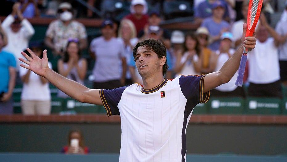 Upsets send Fritz, Basilashvili to semis at Indian Wells