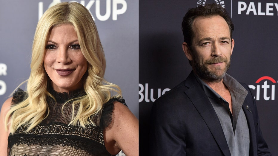 Tori Spelling recalls Luke Perry going 'to brawl' for her amid a 'verbally abusive relationship'