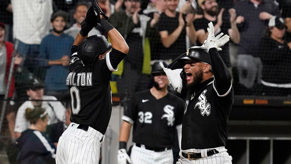 White Sox fan catches home run ball with prosthetic leg