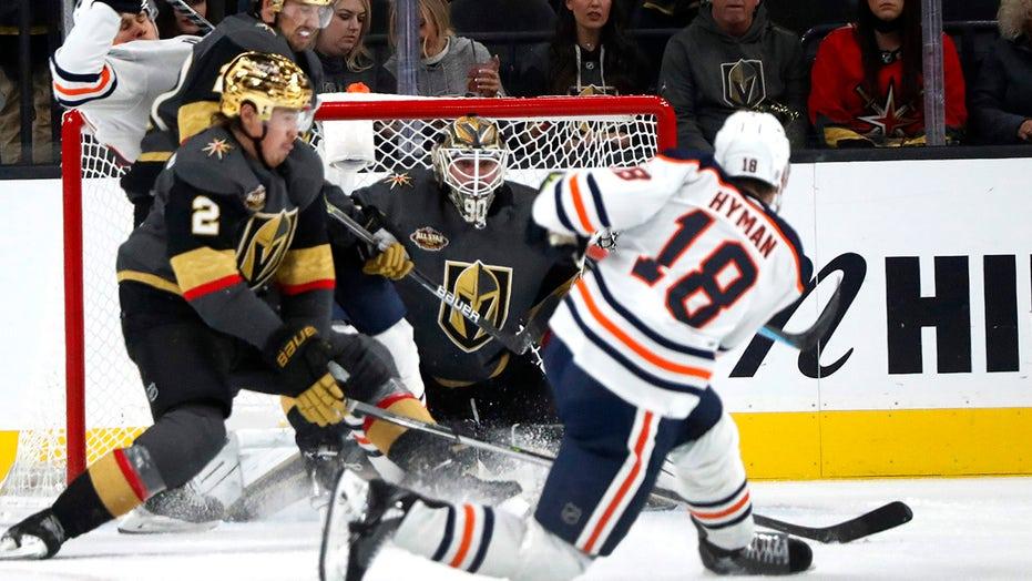 Oilers beat Vegas 5-3, extend season-opening win streak to 5