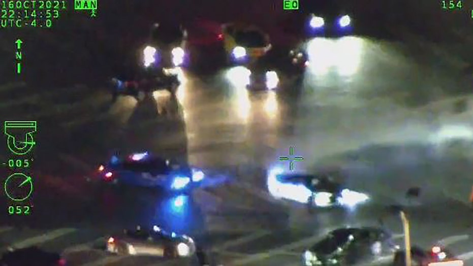 Atlanta police bust street racers doing donuts in parking lot, video shows