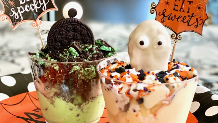 'Halloween Ice Cream Cups' are easy and fun to make: Get the recipe