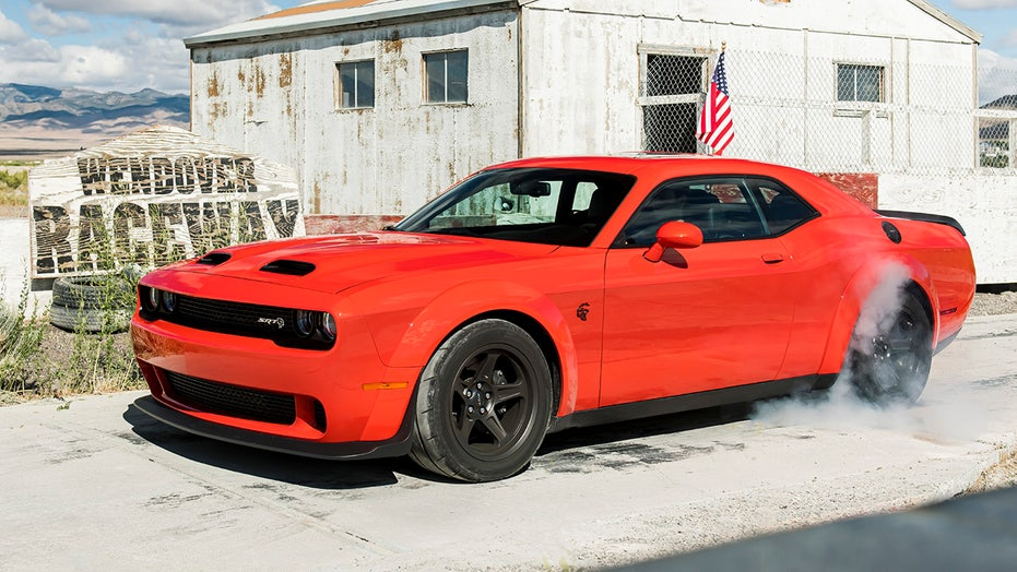 Dodge Challenger pulls ahead of Ford Mustang in American muscle car sales race