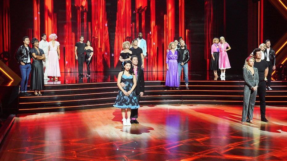 'Dancing with the Stars': 'Grease' week sees star eliminated after bottom two deadlock