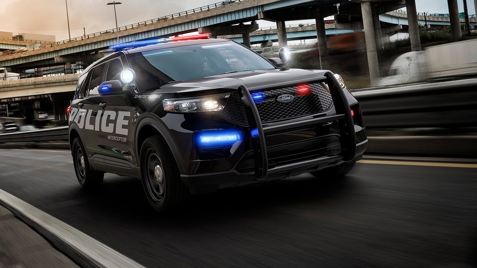 The Ford Explorer is America's fastest police car