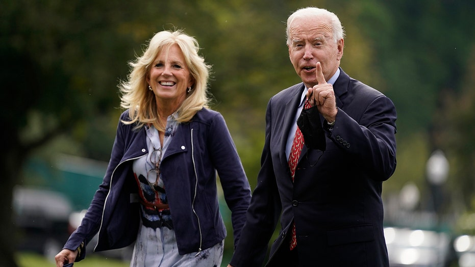 President Joe Biden, Jill Biden attend nephew's wedding to reality TV star