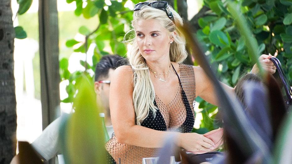 Madison LeCroy poses in black bikini as she celebrates 31st birthday in Miami