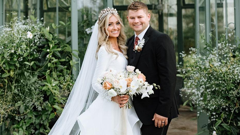 'Bringing Up Bates' star Nathan Bates marries Esther Keyes in lavish wedding ceremony