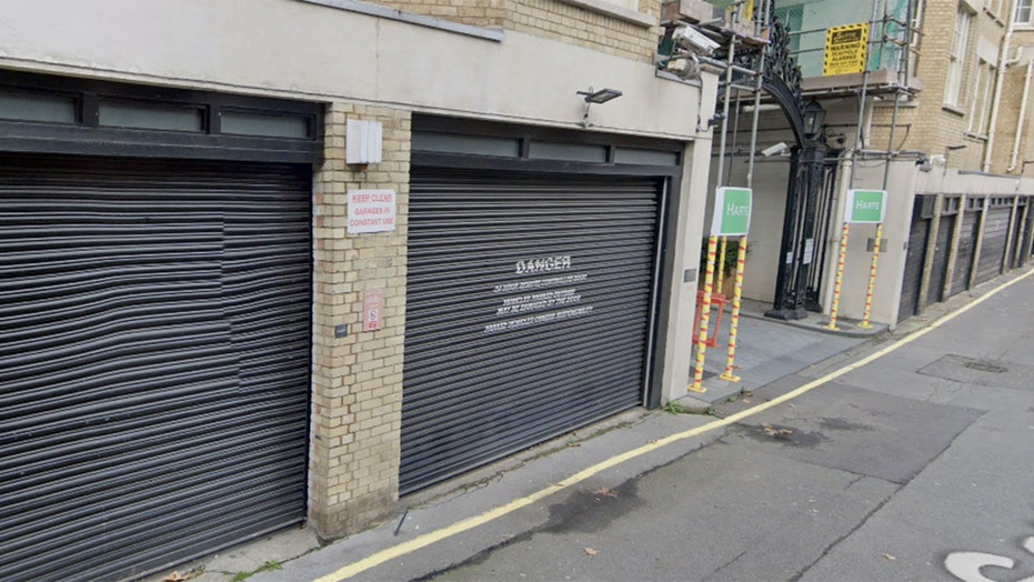 London parking space listed for $1 million