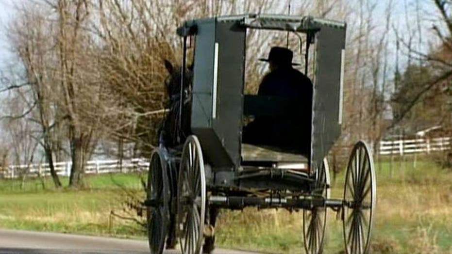Amish Community Refusing to Mount Safety Signs on Buggies