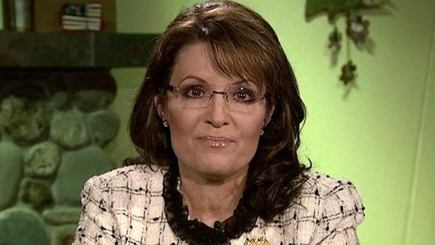 Sarah Palin reacts to Santorum's surge, Bachmann's exit and Perry's push forward