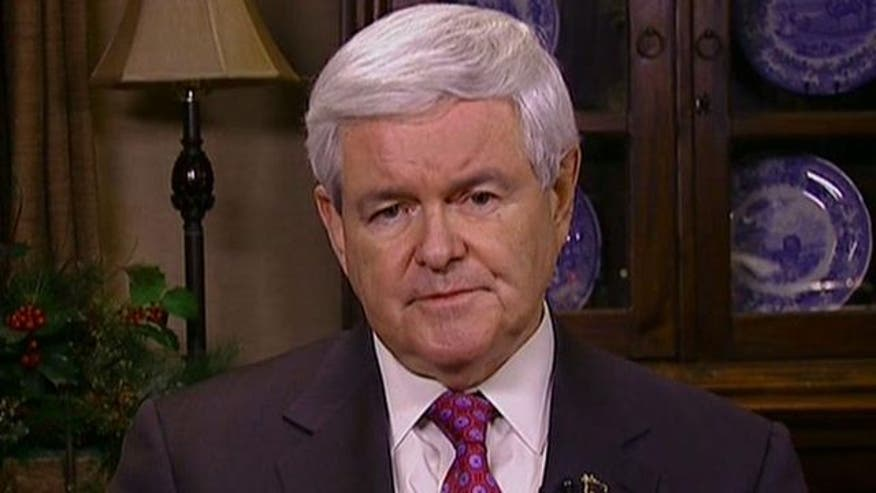 2012 candidate Newt Gingrich on his chances in New Hampshire
