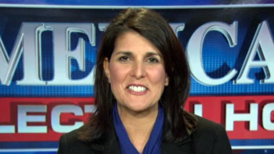 'On the Record' - On the Trail: Mitt Romney supporter Gov. Nikki Haley says she and the residents of her state need a partner in Washington