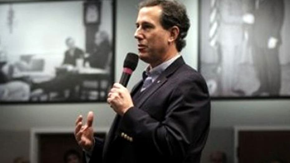 Santorum Surge Makes Pork Spending Election Issue