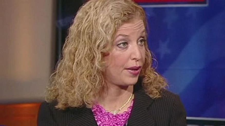 DNC Chairwomen discusses Romney, Obama and solyndra