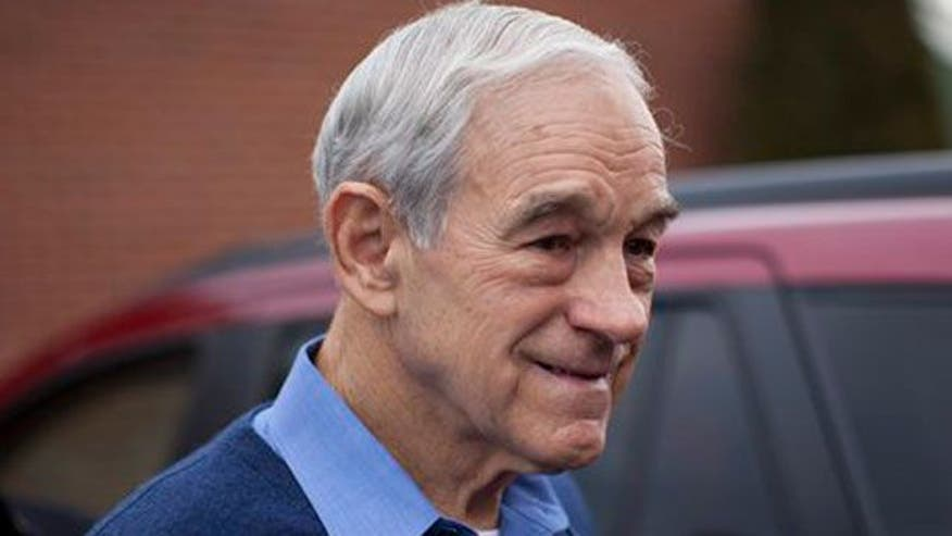 GOP presidential candidate Ron Paul stifles third party talk, remains upbeat about the N.H. primary