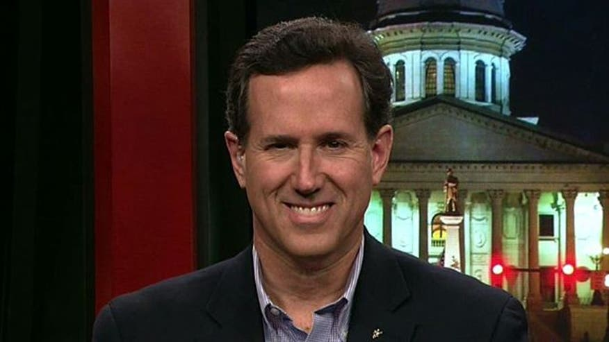 Rick Santorum seeks some southern hospitality as he tries to win over South Carolina voters in primary