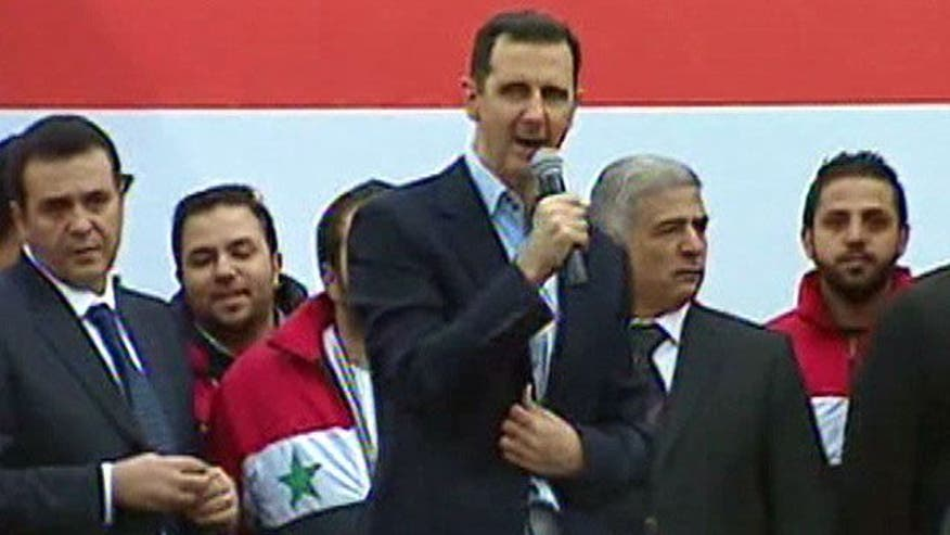Syrian president assures victory, talks foreign conspiracy