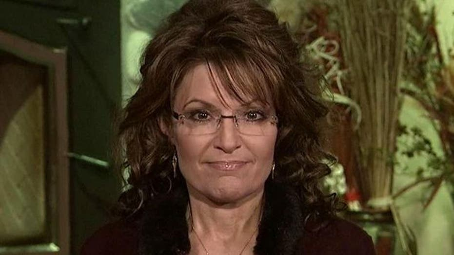 Sarah Palin on 'Hannity' part 1