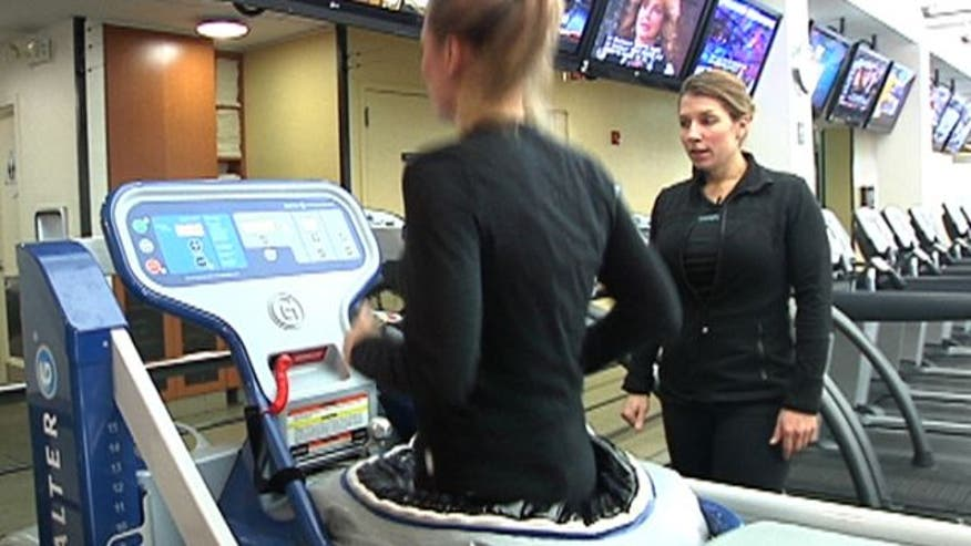 Want to bring your fitness routine to the next level? Foxnews.com's Meg Baker gets us up to speed with an anti-gravity treadmill and a high-tech power cycling program