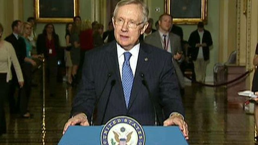 Senate majority leader says Republicans can't be led over the cliff by 'extremism'