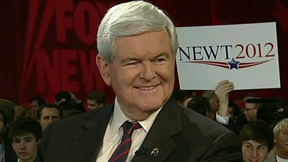 Newt Gingrich on shoot-out with Juan Williams