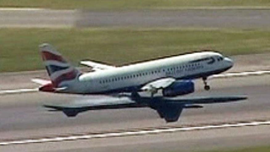 Passengers were told to 'brace for water landing'