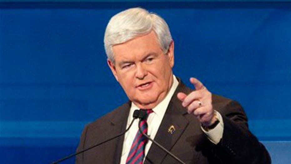 New poll shows Gingrich surge