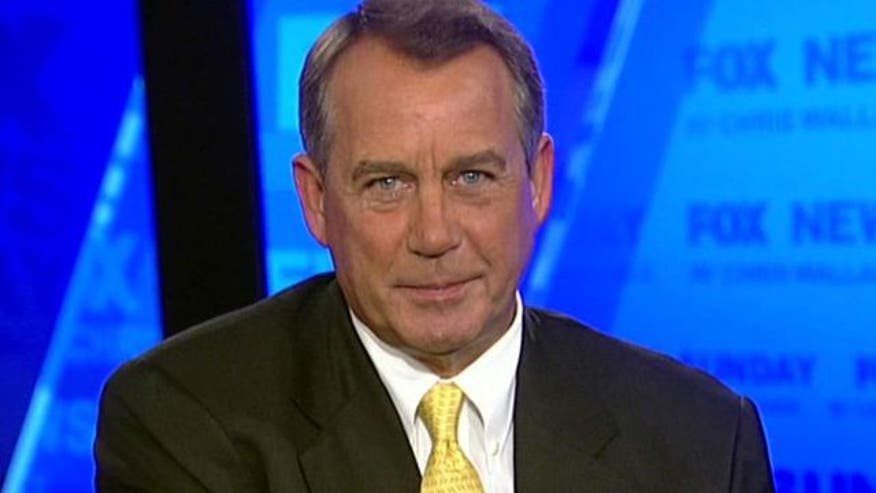 Speaker of the House on 'Fox News Sunday'