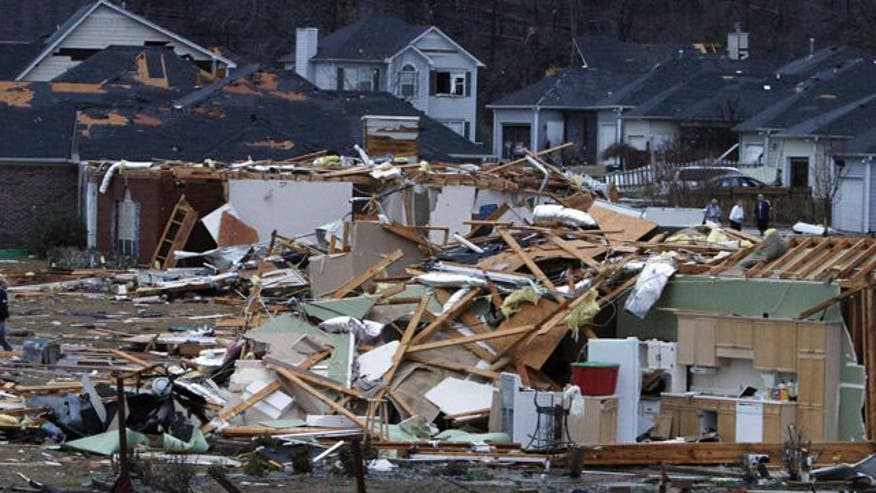Assessing damage of deadly storm