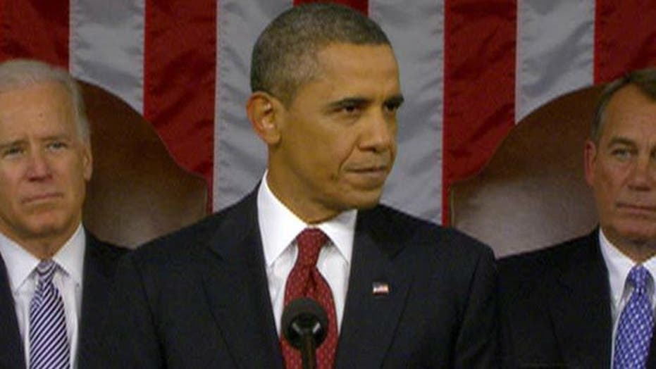 Obama: 'The state of our Union is getting stronger'