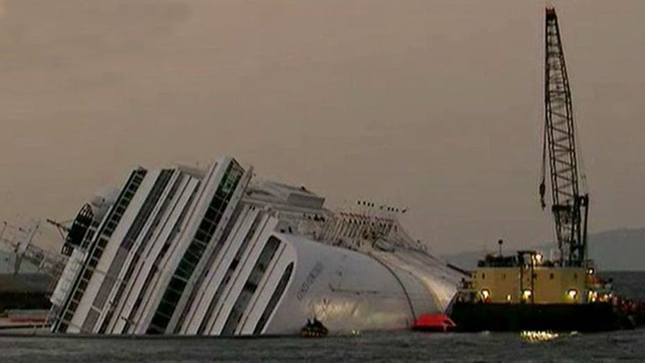 Rescue operations resume on crippled cruise ship