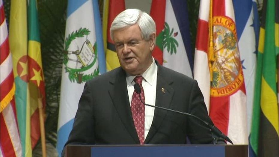 Gingrich on Latin American Policy