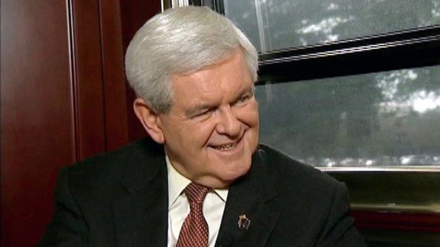 Greta takes a ride on Gingrich's bus in an inside look at his Florida campaign