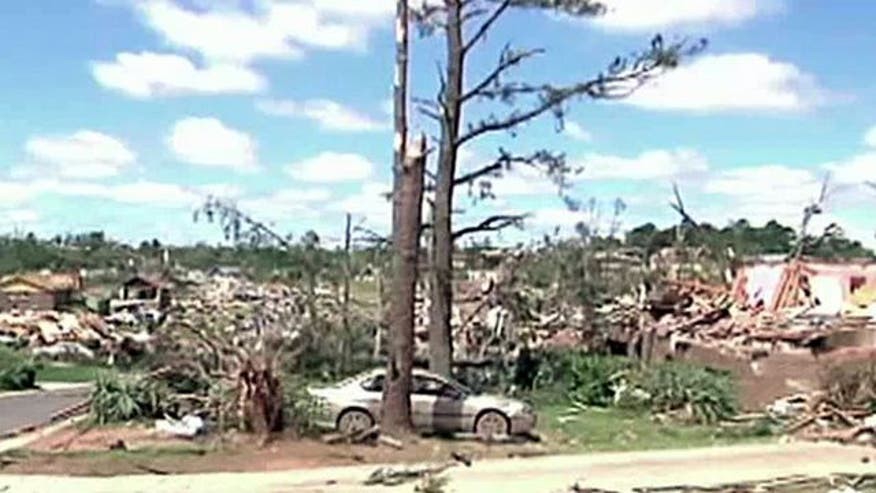 Alabama hit by most tornados in 2011