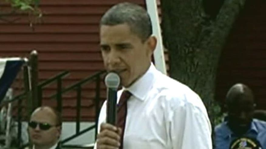 Candidate Obama in 2008 criticizes debt ceiling hikes
