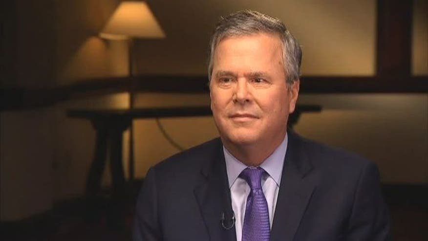 Exclusive Jamie Colby interview with former Florida Governor Jeb Bus.