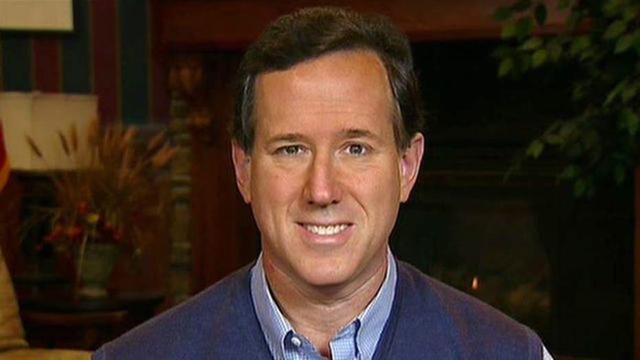 Rick Santorum: I'm the 'real conservative that can win'