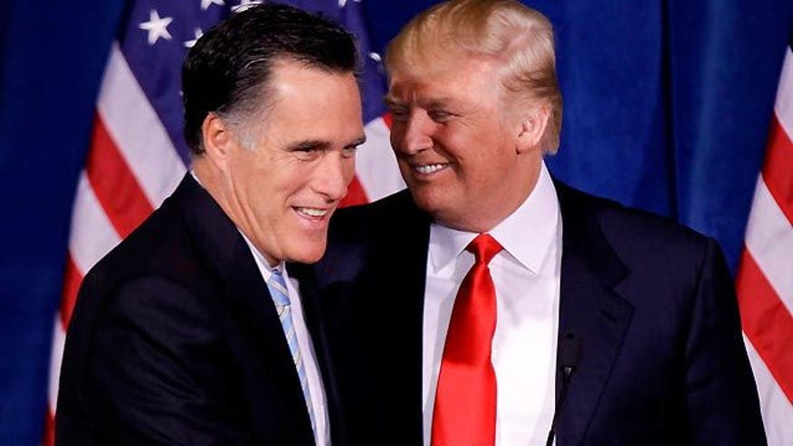 'The Donald' on his endorsement of Mitt Romney