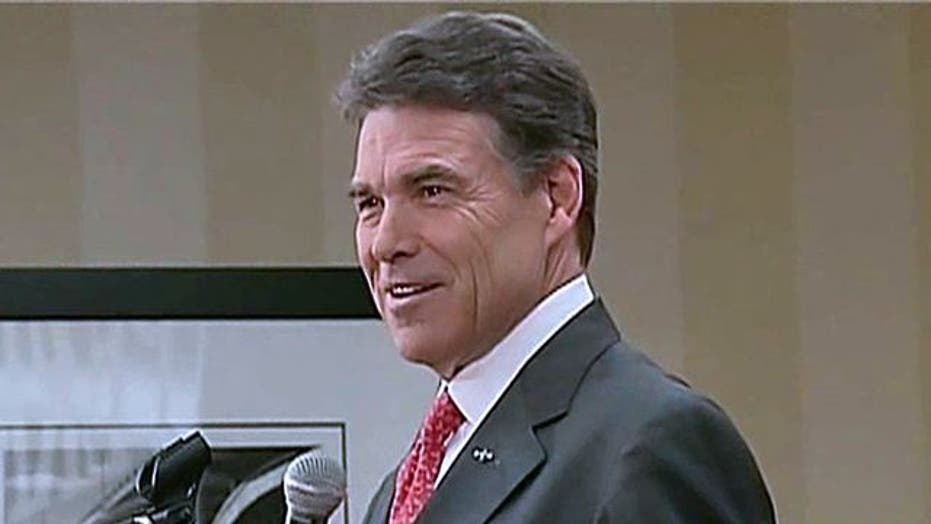 Rick Perry: I haven't left the fight, I just went home