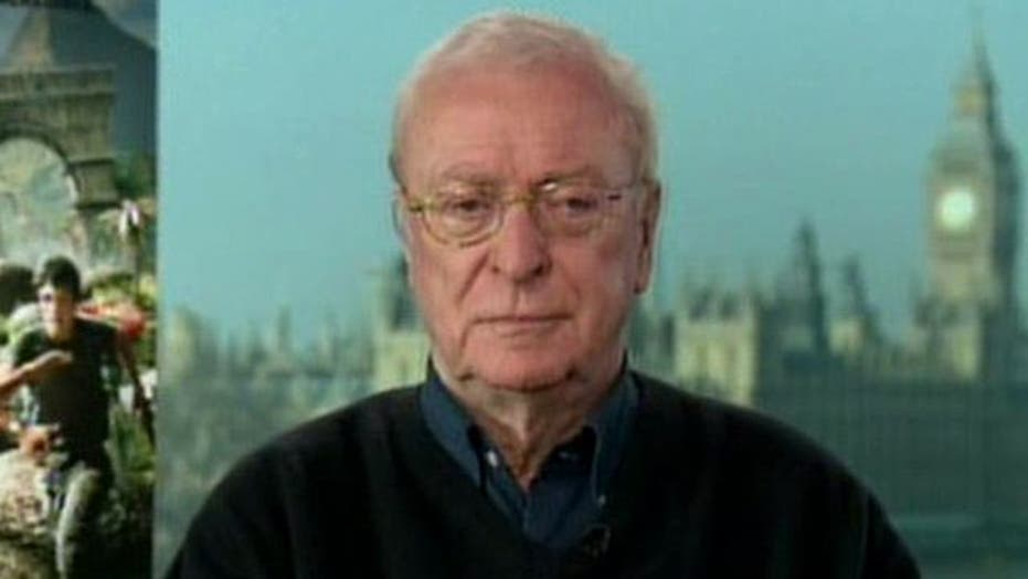 Michael Caine's new 'Journey'