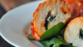 Stuffed Chicken Breast With Spinach