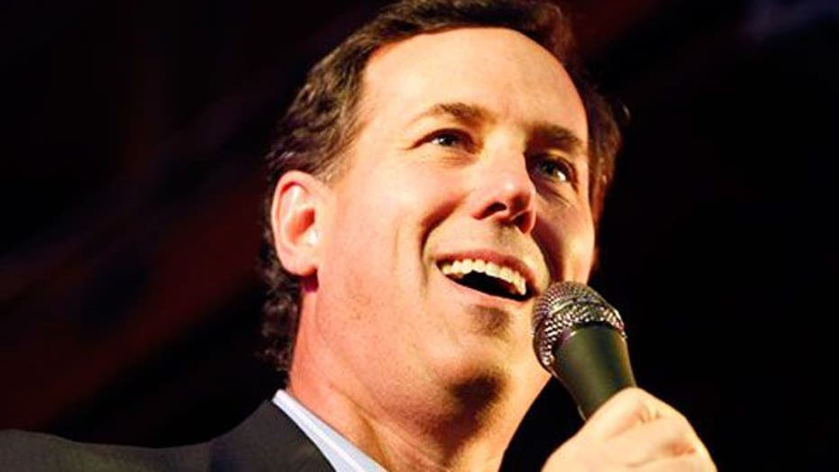 Santorum benefitting from contraception controversy?