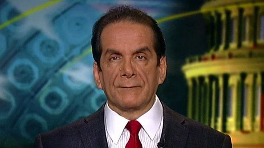 """Krauthammer elaborates on the White House budget he declared as """"scandalous"""""""
