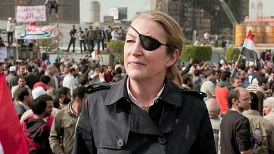 Marie Colvin was a reporter for Britain's Sunday Times
