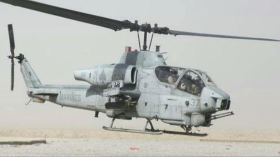 7 Marines killed in helicopter collision in Arizona